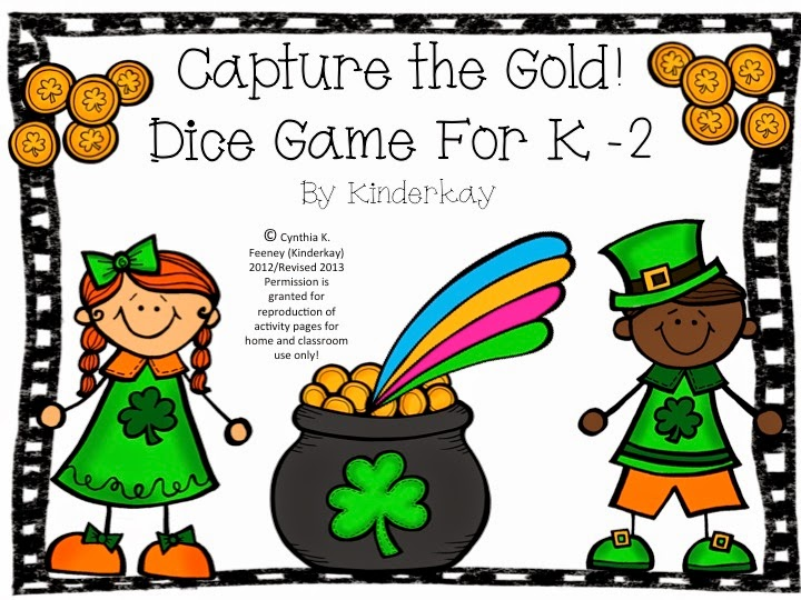 https://www.teacherspayteachers.com/Product/Capture-the-Gold-Dice-Game-218150