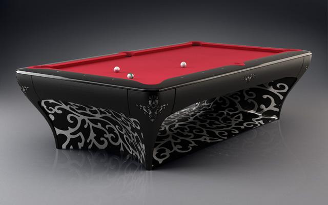 Mesas de pool con dise o de lujo azdeco for Mesas de billar de lujo