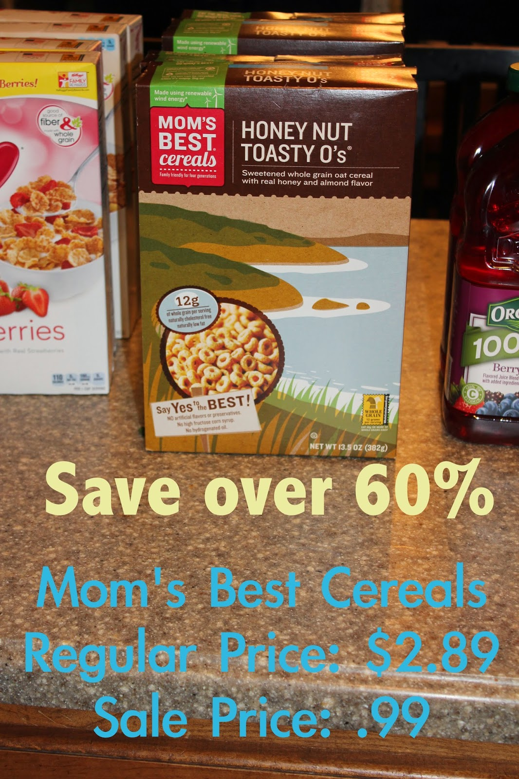 cereal for only .99 a box!
