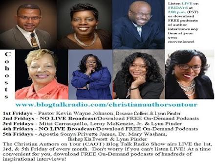 Listen to the Christian Authors on Tour (CAOT) Blog Talk Radio Show!