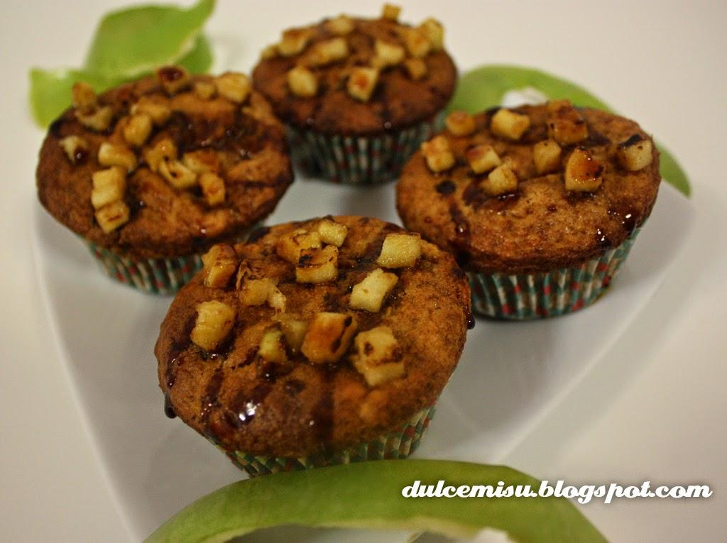 muffins manzana dulcemisu