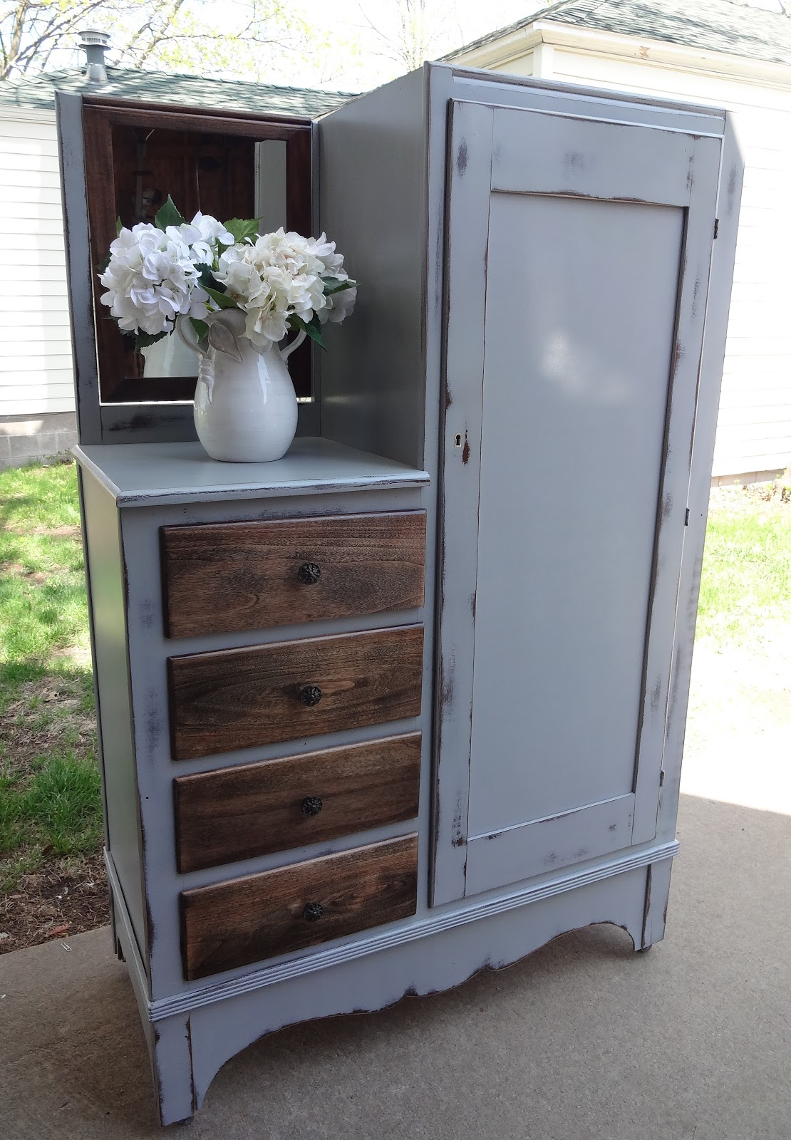 Createinspire Antique Wardrobe