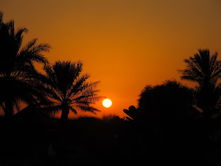 Sunset at Bab al Shams