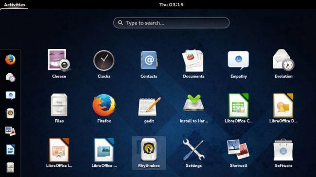 Linux Fedora 1