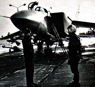 Техник МиГ 25 ПД/ПДС