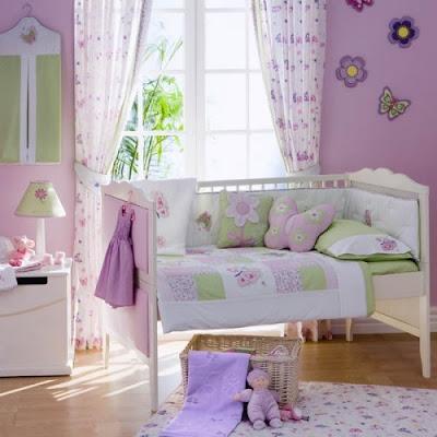 dormitorio niñas mariposa