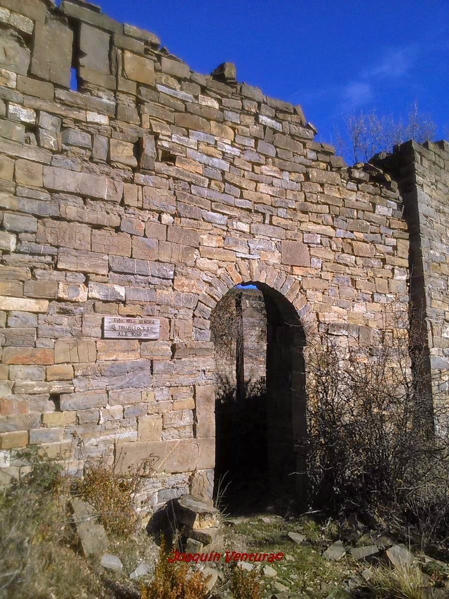 Portada de Santa María de Trujillo