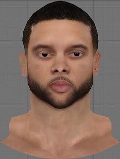 NBA 2K13 Deron Williams Cyberface Patch