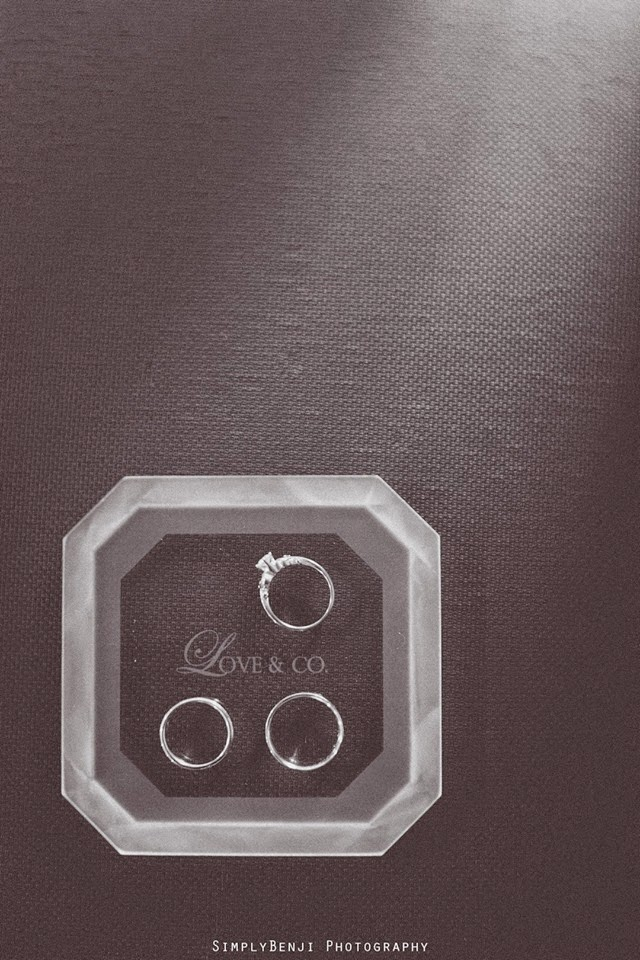 black ring box display