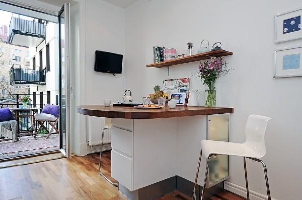 Apartamento nórdico en tonos grises