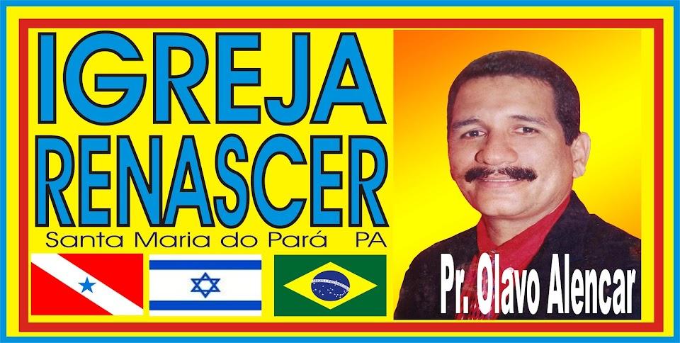 PASTOR OLAVO ALENCAR HOMEM DE DEUS
