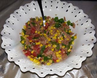 Salade marocaine au thon