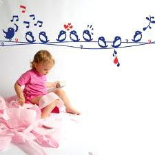 Birds wall stickers for bedroom walls