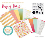 CTMH's May National Scrapbooking Campaign -- Happy Times!