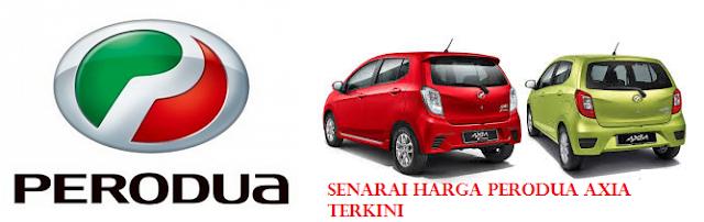 Harga Perodua Axia 2015