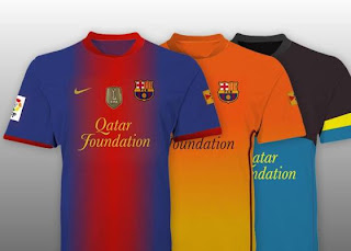 Barcelona new away kits 2013
