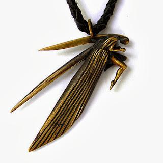 """Кулон """"Эльф"""" (2) - авторские украшения из бронзы"""