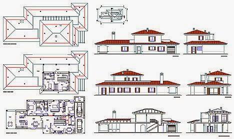 Journal3 octobre 2013 for Plan de maison avec autocad