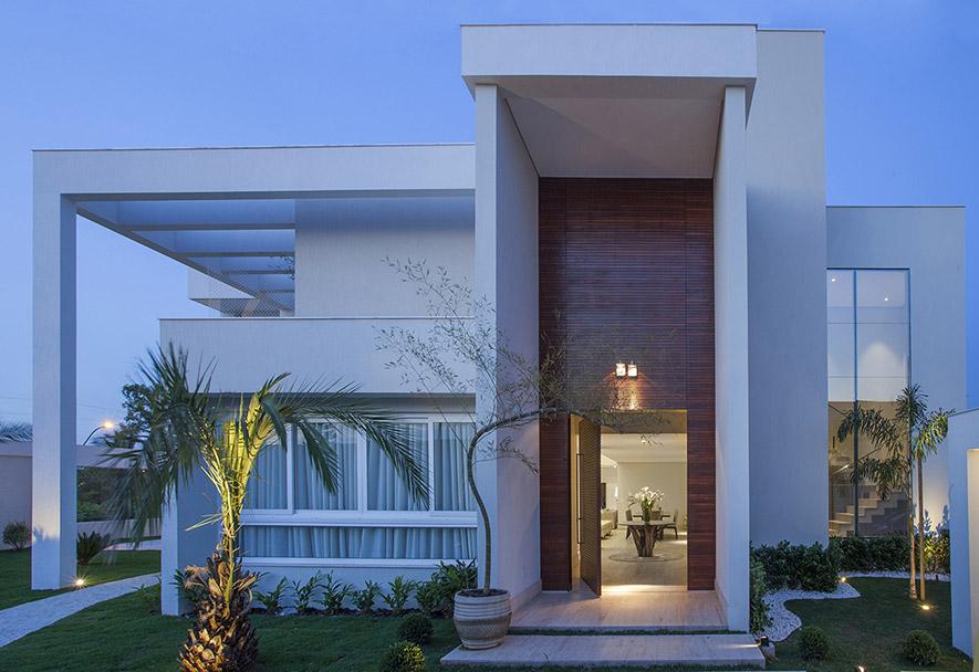 Fachada entrada casas mitula casas car interior design for Fachada moderna