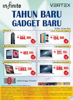Promo iPhone 5 harga mulai Rp 444.389 x 18 bulan