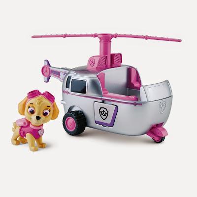 JUGUETES - Paw Patrol | La Patrulla Canina - El helicóptero de Skye | Vehículo + Figura | TOYS | Skye's High Flyin' Copter