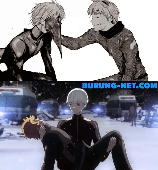 Perbedaan Anime dan Manga Tokyo Ghoul