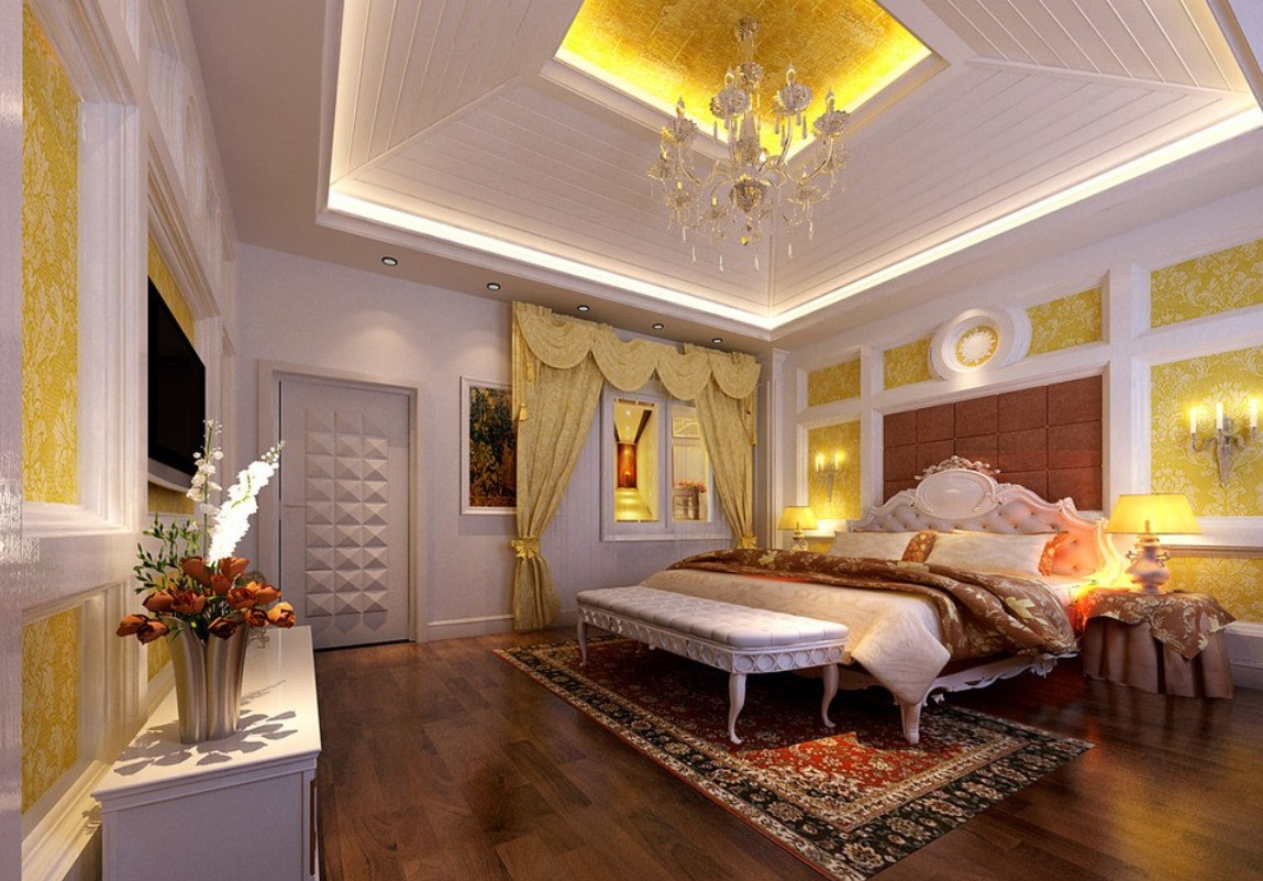 Bedroom designs Master bedroom ceiling lighting ideas