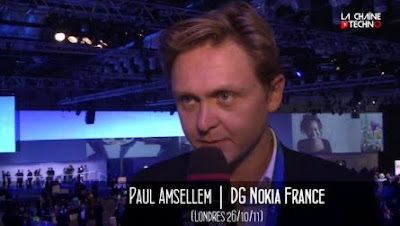 Paul Amsellem Head of Nokia France