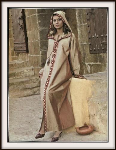djellaba brune - Djellaba Marocaine