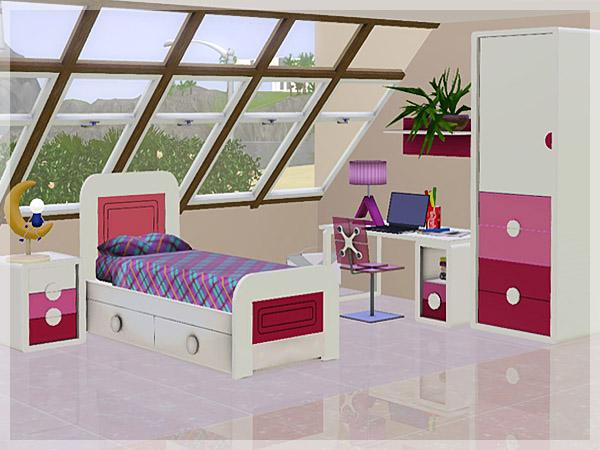 18 12 12 dormitorio krystal for Dormitorio sims 4
