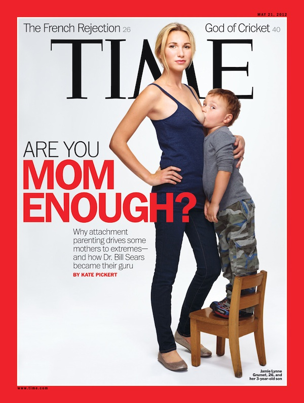 Time Magazine's shocking breast feeding photos