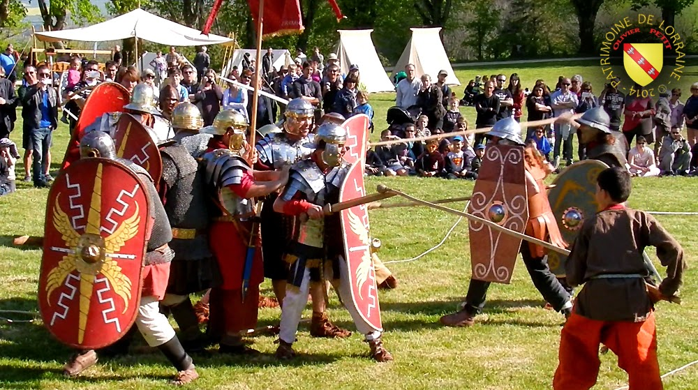 SION (54) - Journée gallo-romaine - Gaulois-Trimatrici affronte XXIIe Legion