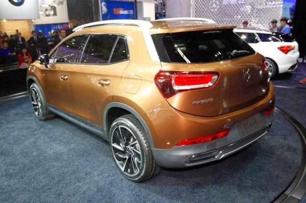 Citroën DS 6WR para China trasera