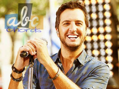 Luke Bryan - Roller Coaster Chords and Lyric