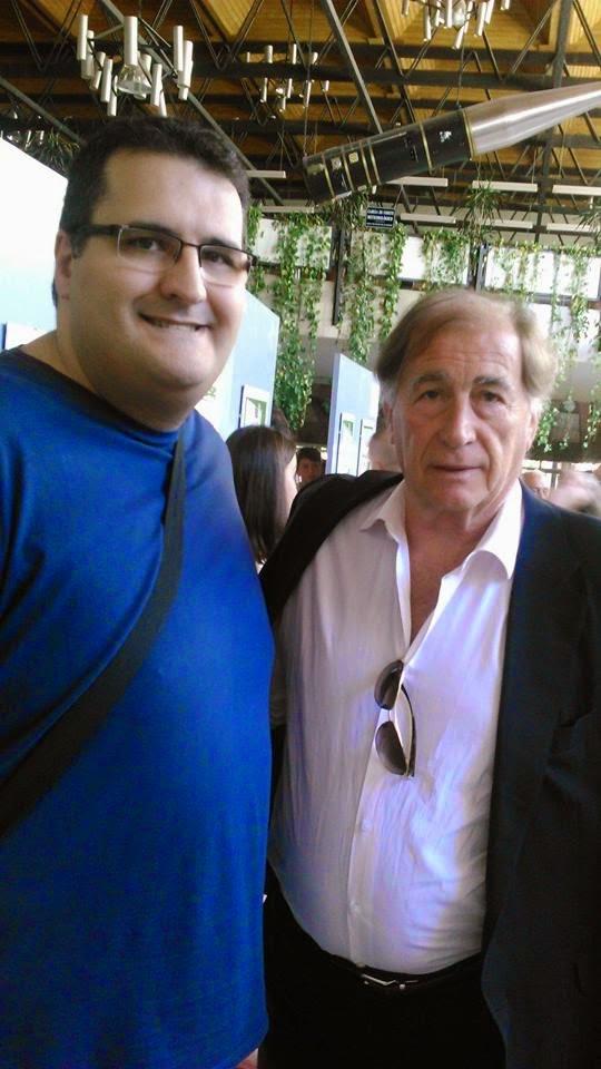 Con Toni Grande, Selección E. de Fútbol