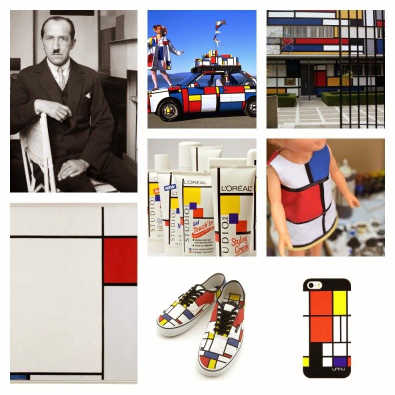 Mondrian arte moda