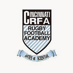 Logo for the Cincinnati Rugby Academy in Ohio