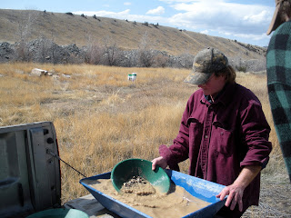 Testing a mining property a few years back in central Montana