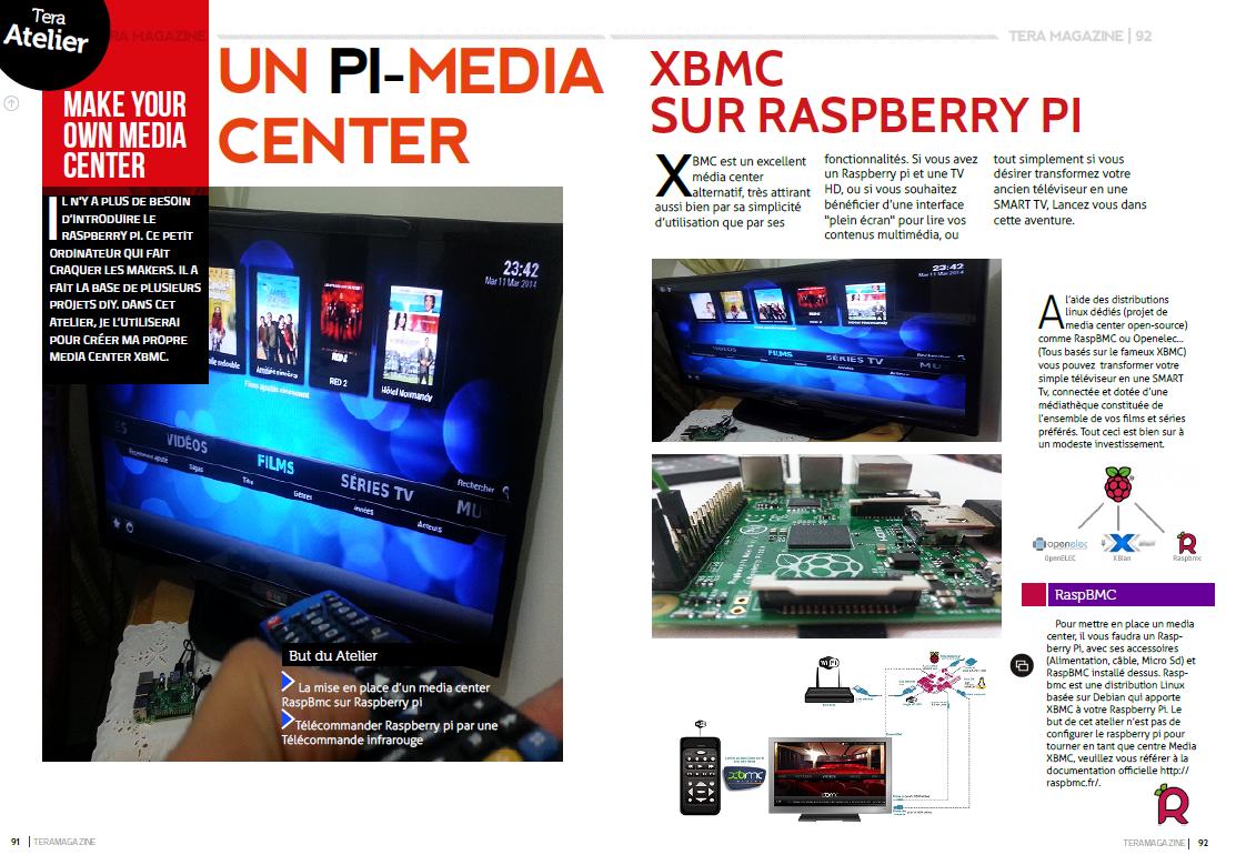 Raspberry pi media center image download