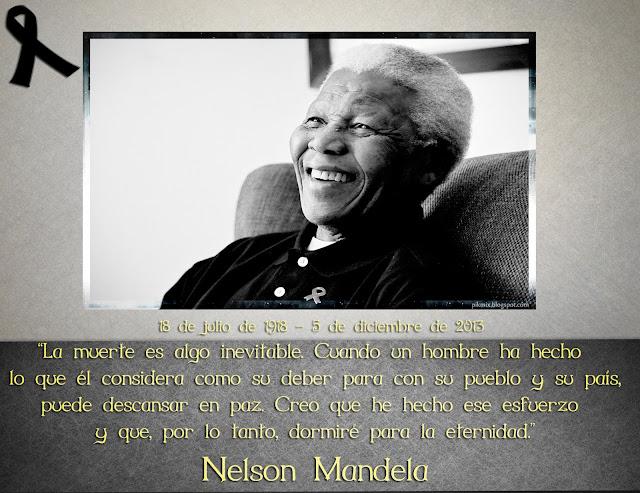 Nelson Mandela Descansa en paz