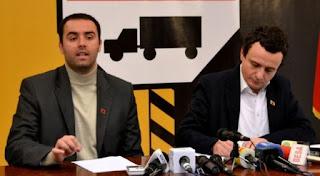 Arrestohet Albin Kurti dhe Glauk Konjufca në Kosovë