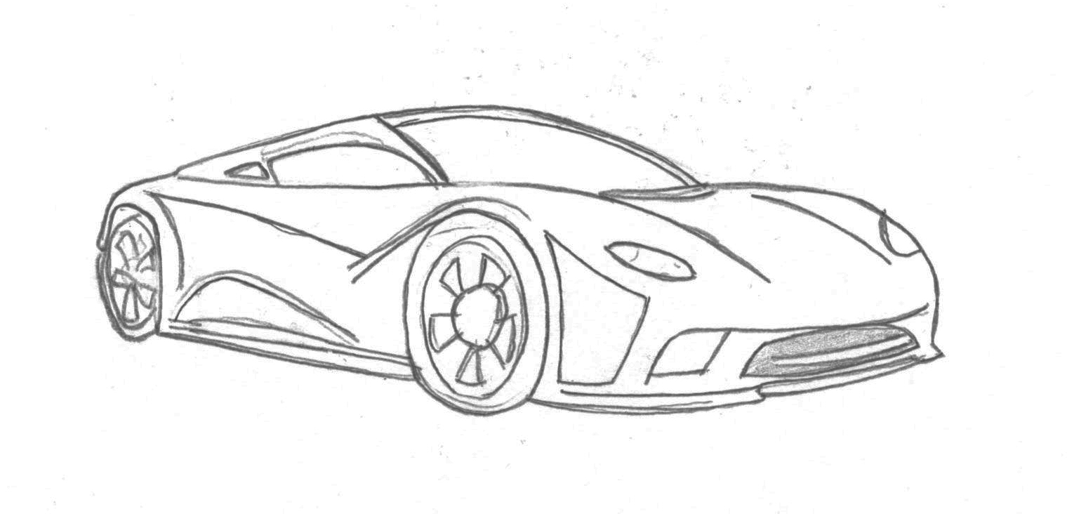 Awesome Drawings Of Cars Related Keywords