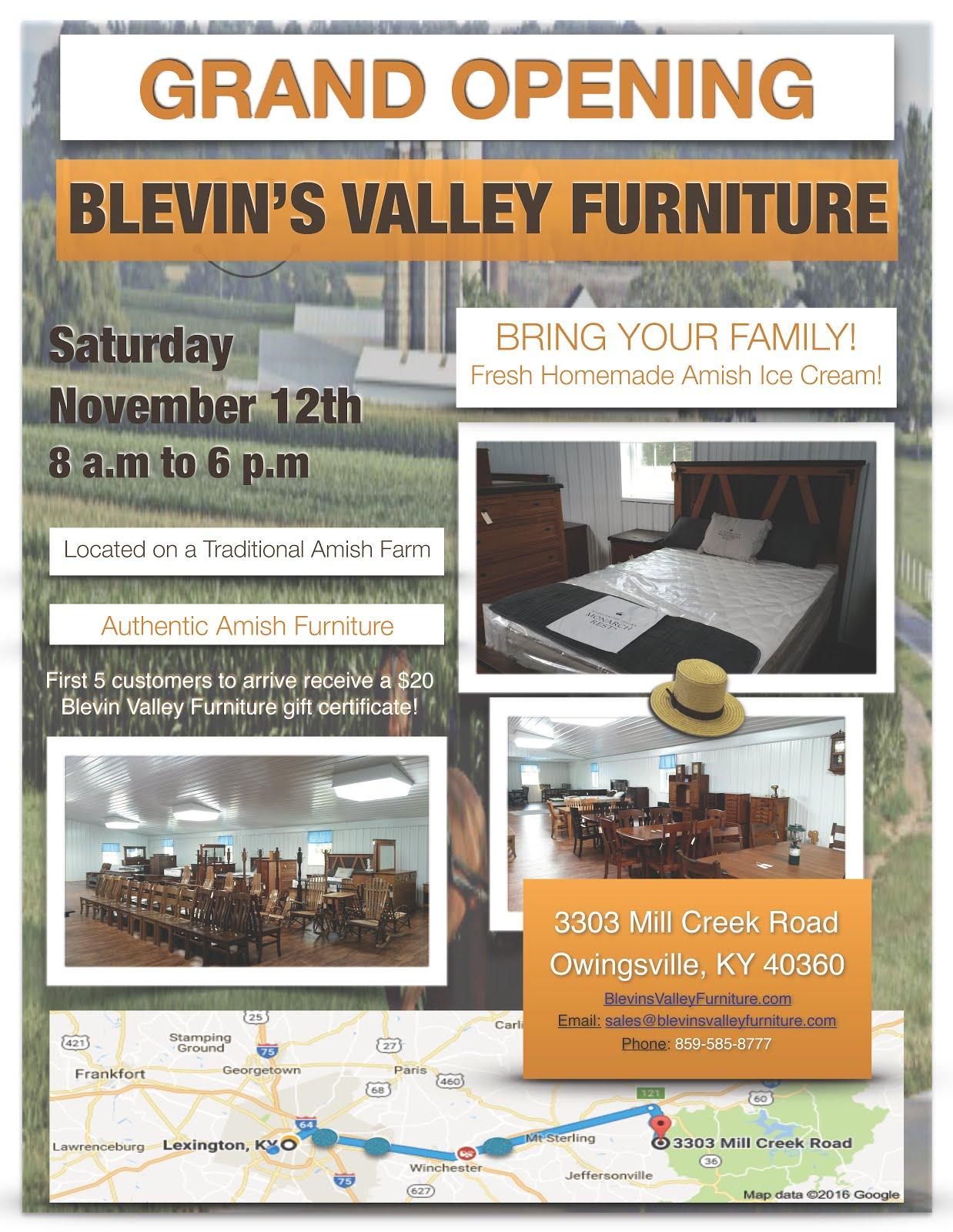 Blevin s Valley Furniture