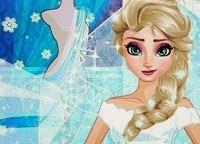Frozen Diseñadora de vestido de novia