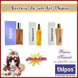 Sorteio em parceria com a Thipos: