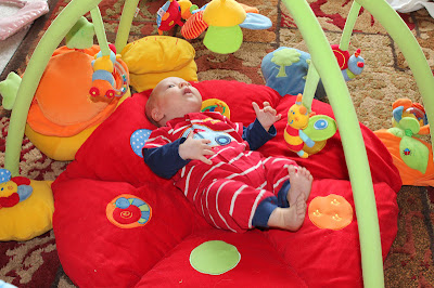 Mamas and Papas Lotty Light and Sound Playmat & Gym