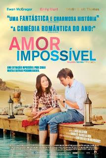 """Cartaz brasileiro do filme """"Amor Impossível"""""""