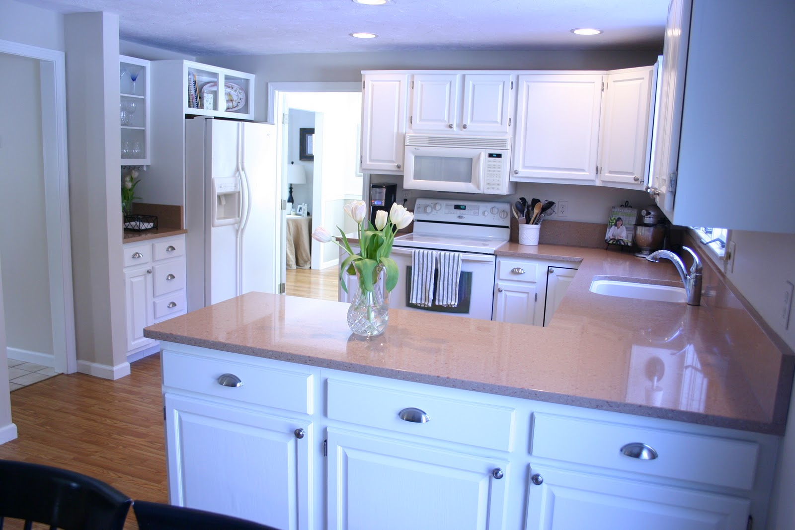 Peach Kitchen Our Kitchen Refreshed And Revealed Shine Your Light