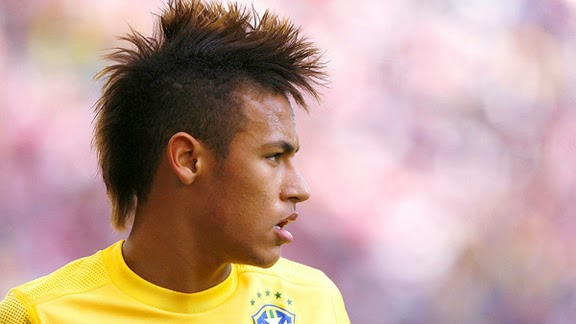 Neymar Jr Hairstyle And Haircut New 2015
