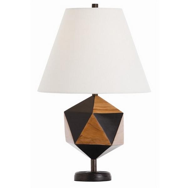 geometric, interior, lamp